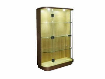 Bespoke Glass Display Case with Lights
