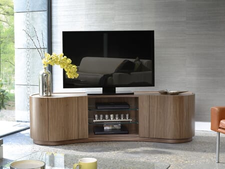 Swirl TV Media Cabinet -Show Flat Clearance